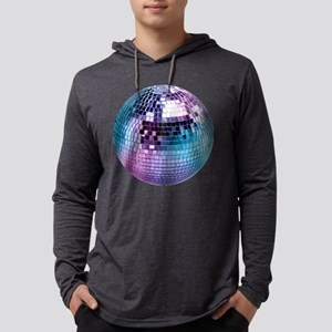 Disco Ball Mens Hooded Shirt