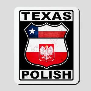 Texas Polish American Mousepad
