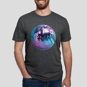 Disco Ball Mens Tri-blend T-Shirt