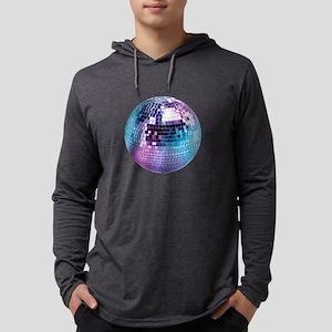 Disco Ball (personalizable) Mens Hooded Shirt