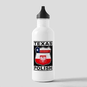 Texas Polish American Water Bottle