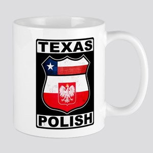 Texas Polish American Mug