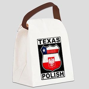 Texas Polish American Canvas Lunch Bag