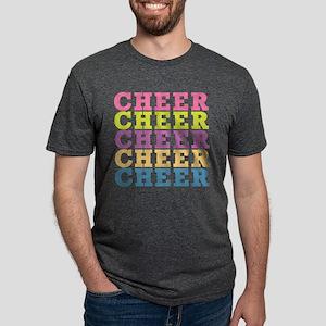 CHEERX5 Mens Tri-blend T-Shirt