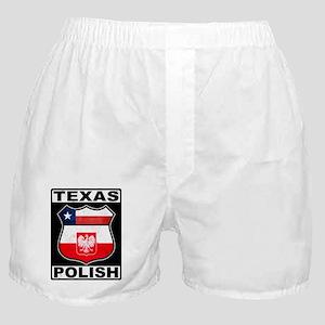 Texas Polish American Boxer Shorts