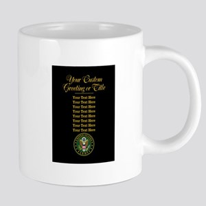 CUSTOM TEXT U.S. Army 20 oz Ceramic Mega Mug