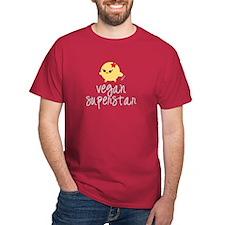 Vegan Superstar Dark T-Shirt