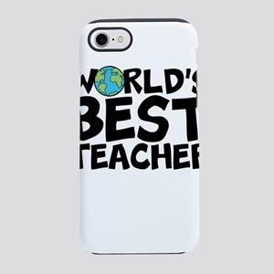 World's Best Teacher iPhone 7 Tough Case