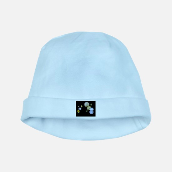 Our Solar System Planets Baby Hat
