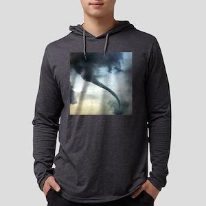 Tornado Mens Hooded Shirt