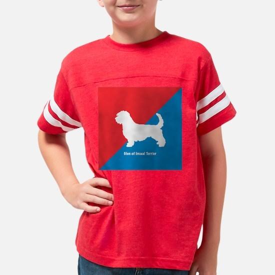 Glen of Imaal Terrier 2 Youth Football Shirt