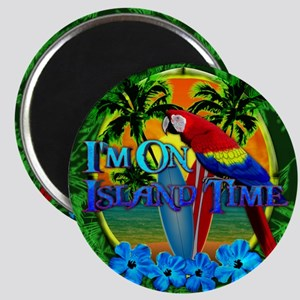Island Time Surfboards Magnet