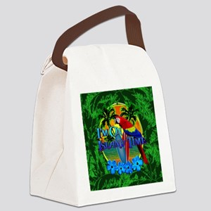 Island Time Surfboards Canvas Lunch Bag