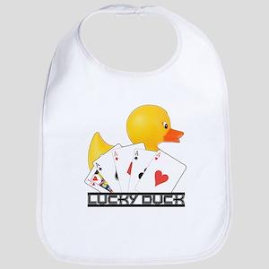 Lucky Duck Poker Bib