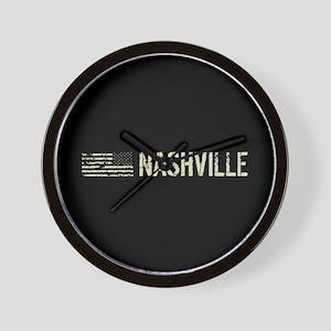 Black Flag: Nashville Wall Clock