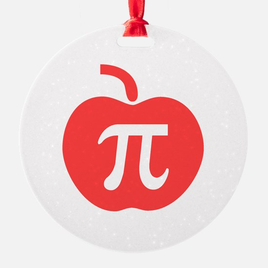 Apple Pi Ornament