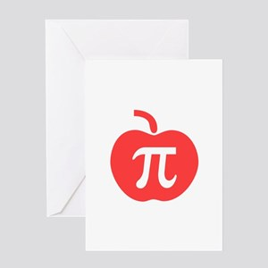 Apple pie greeting cards cafepress apple pi greeting card m4hsunfo