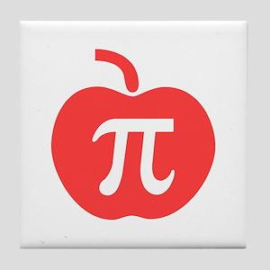 Apple Pi Tile Coaster