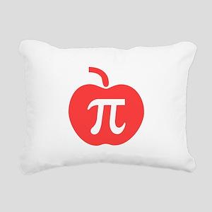 Apple Pi Rectangular Canvas Pillow