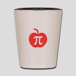Apple Pi Shot Glass