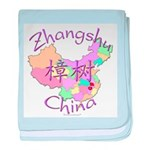 Zhangshu China baby blanket