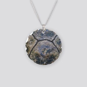 Gopher Tortoise Shell Necklace Circle Charm