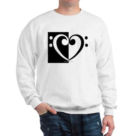 Bass Heart Music Sweatshirt