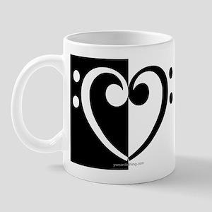 Bass Heart Music Mug