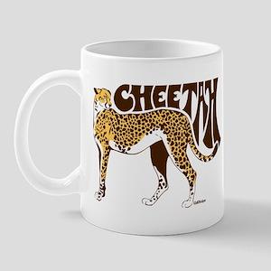 Cheetah 11 oz Ceramic Mug
