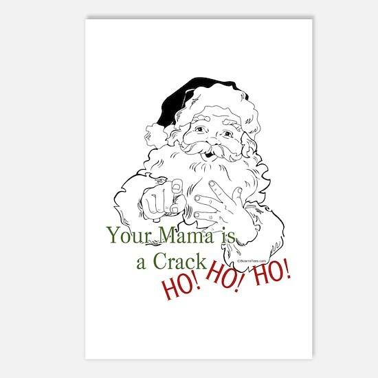 Santa Crack HO Postcards (Package of 8)