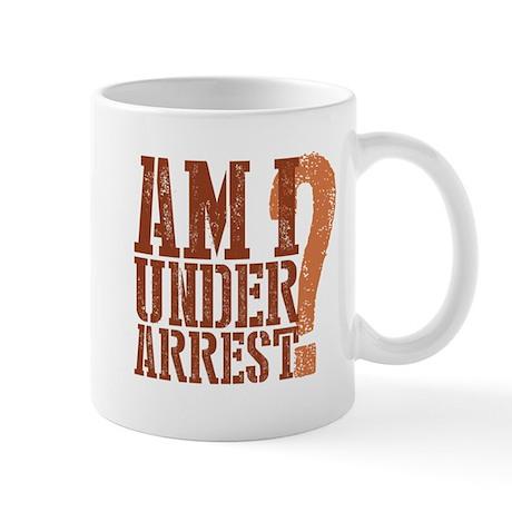 Breaking Bad: Am I Under Arrest Mug