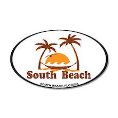 South Beach - Palm Trees Design. Wall Decal