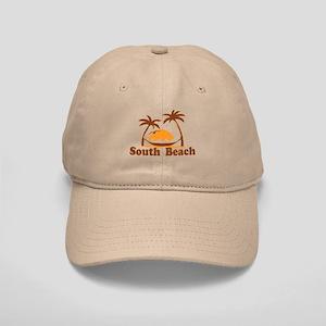 South Beach - Palm Trees Design. Cap