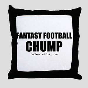 """CHUMP"" Throw Pillow"