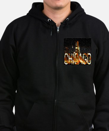 Chicago Zip Hoody