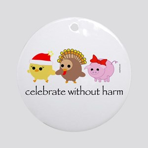 Celebrate Without Harm Ornament (Round)