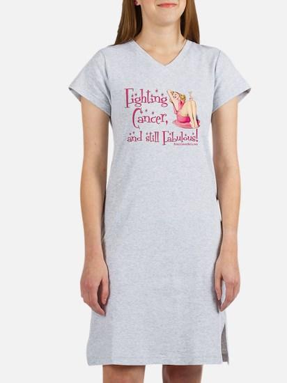 Fabulous Cancer! Women's Nightshirt