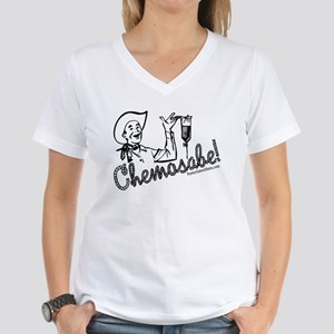 Chemosabe! Women's V-Neck T-Shirt