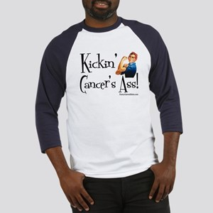 Kickin' Cancer's Ass! Baseball Jersey