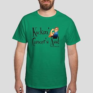 Kickin' Cancer's Ass! Dark T-Shirt