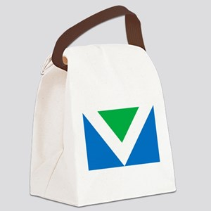 Vegan Flag Canvas Lunch Bag