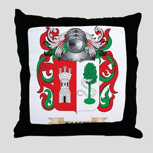 Kassel Coat of Arms (Family Crest) Throw Pillow