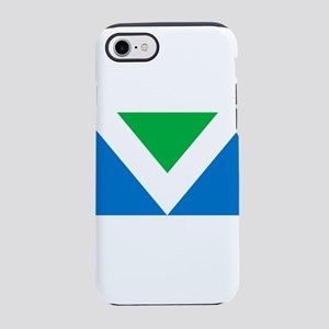 Vegan Flag iPhone 7 Tough Case