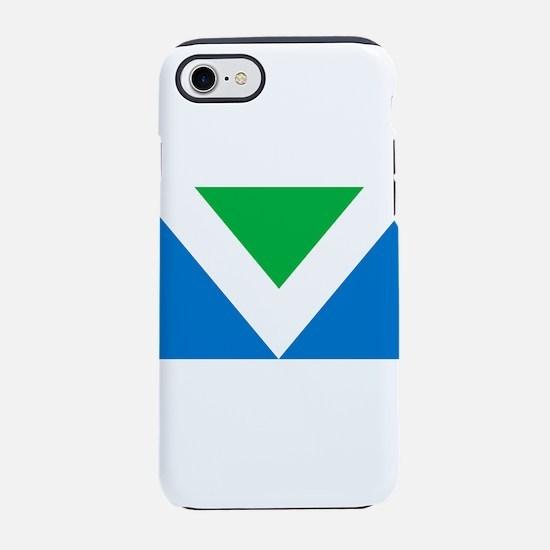 Vegan Flag iPhone 7 Tough Case