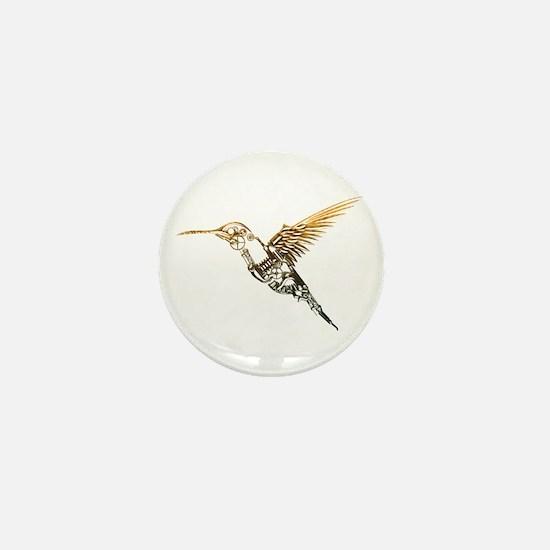 Industrial Hummingbird Mini Button