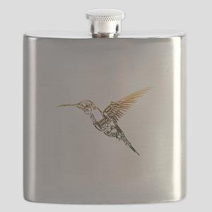 Industrial Hummingbird Flask