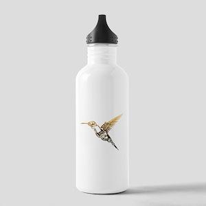 Industrial Hummingbird Sports Water Bottle