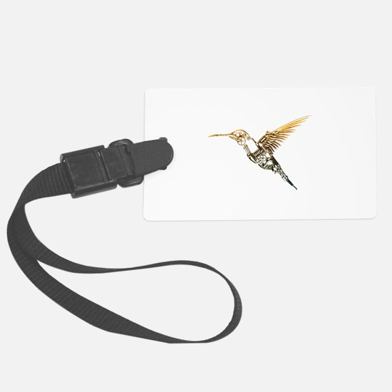 Industrial Hummingbird Luggage Tag
