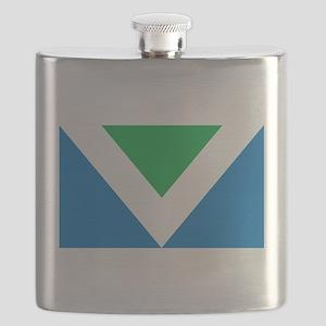 Vegan Flag Flask