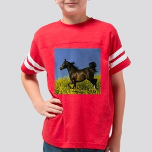 horse 1 11X11 Youth Football Shirt